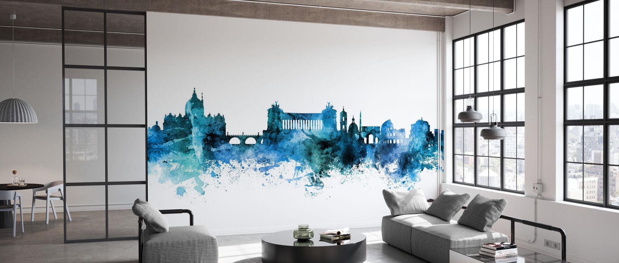 Rome Italy Skyline - Wallpaper - Office