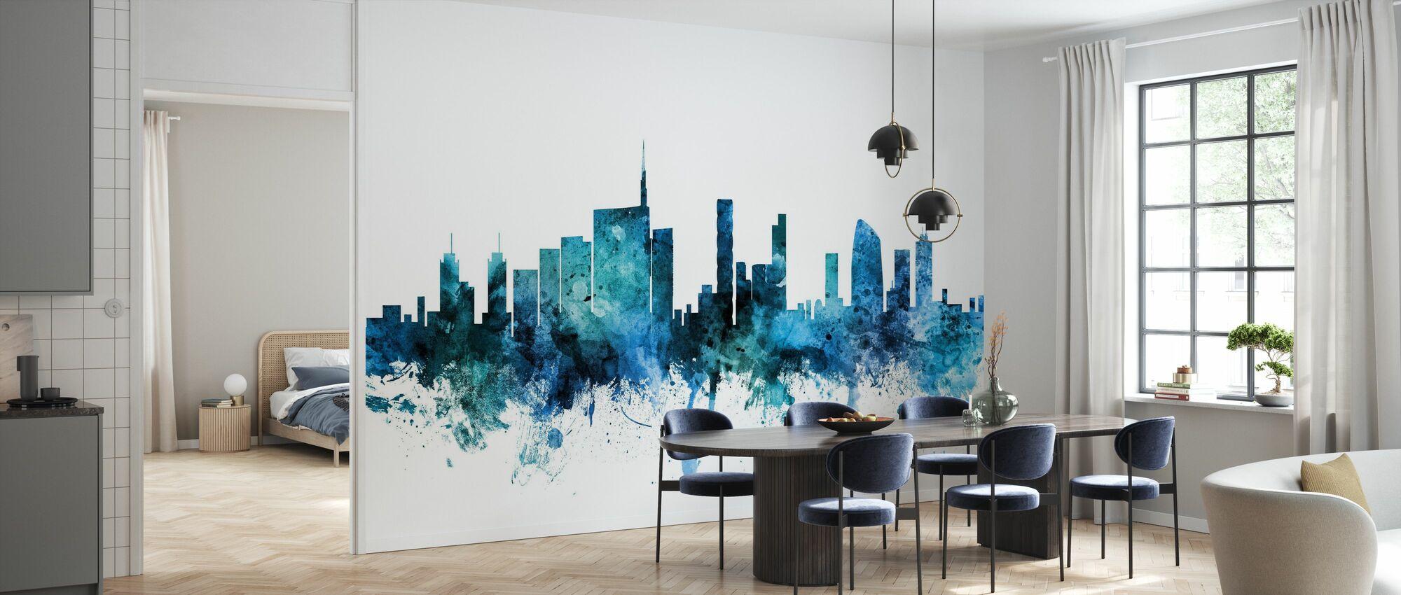 Milan Italy Skyline - Wallpaper - Kitchen