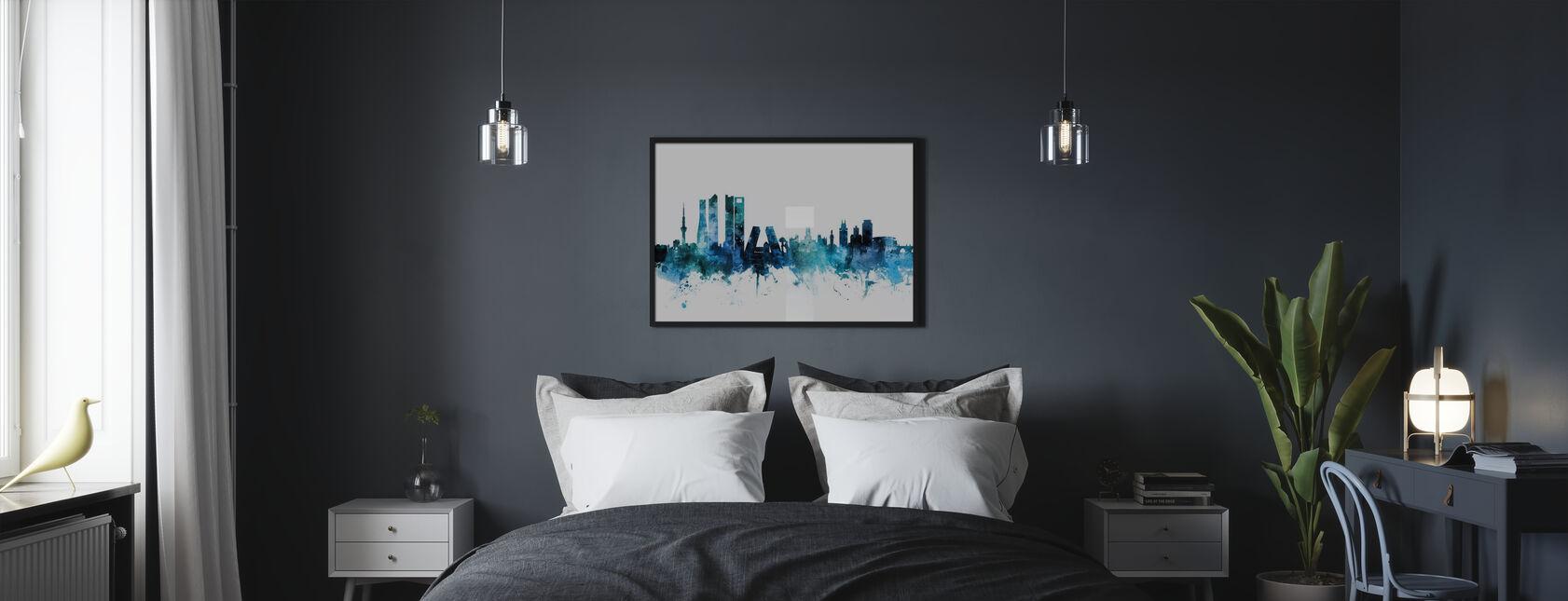 Madrid España Skyline - Póster - Dormitorio