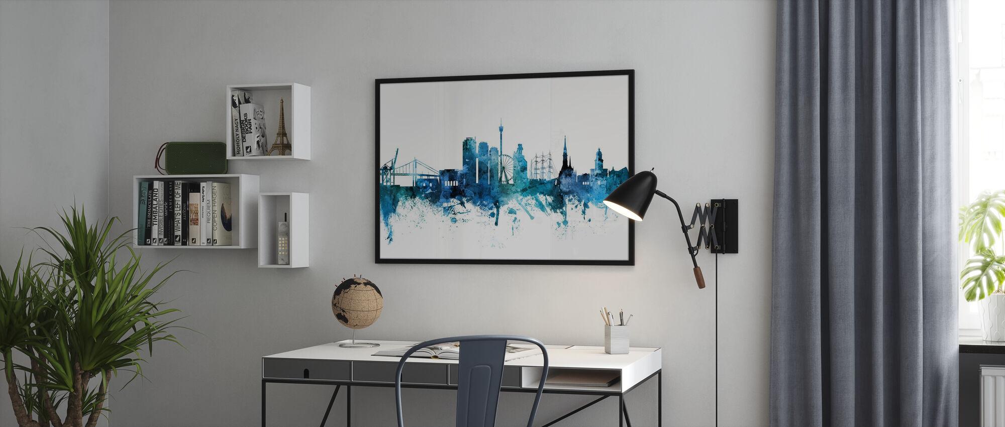 Göteborgs Skyline - Poster - Kontor