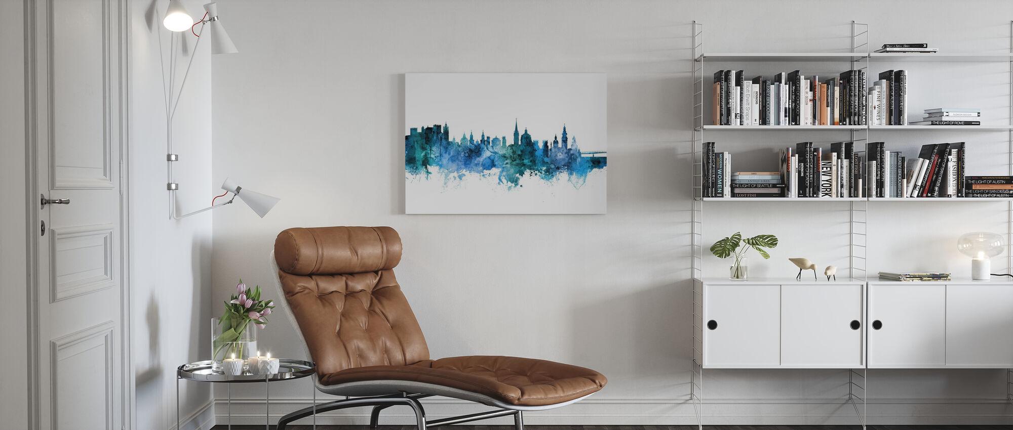 Salzburg Austria Skyline - Canvas print - Living Room