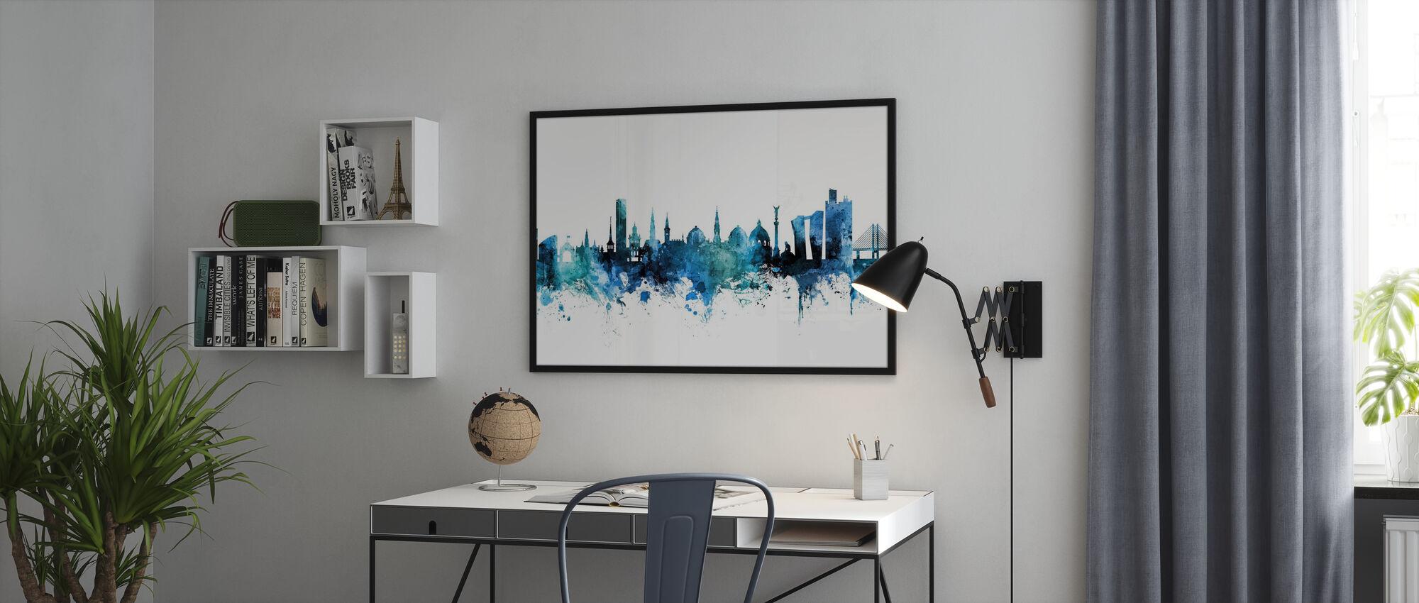 København Skyline - Plakat - Kontor