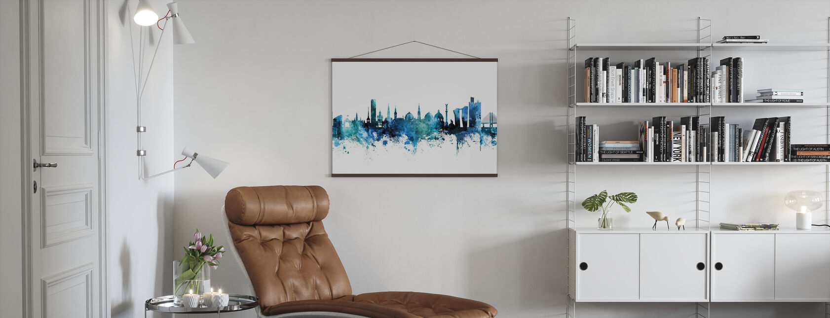 Copenhagen Denmark Skyline - Poster - Living Room
