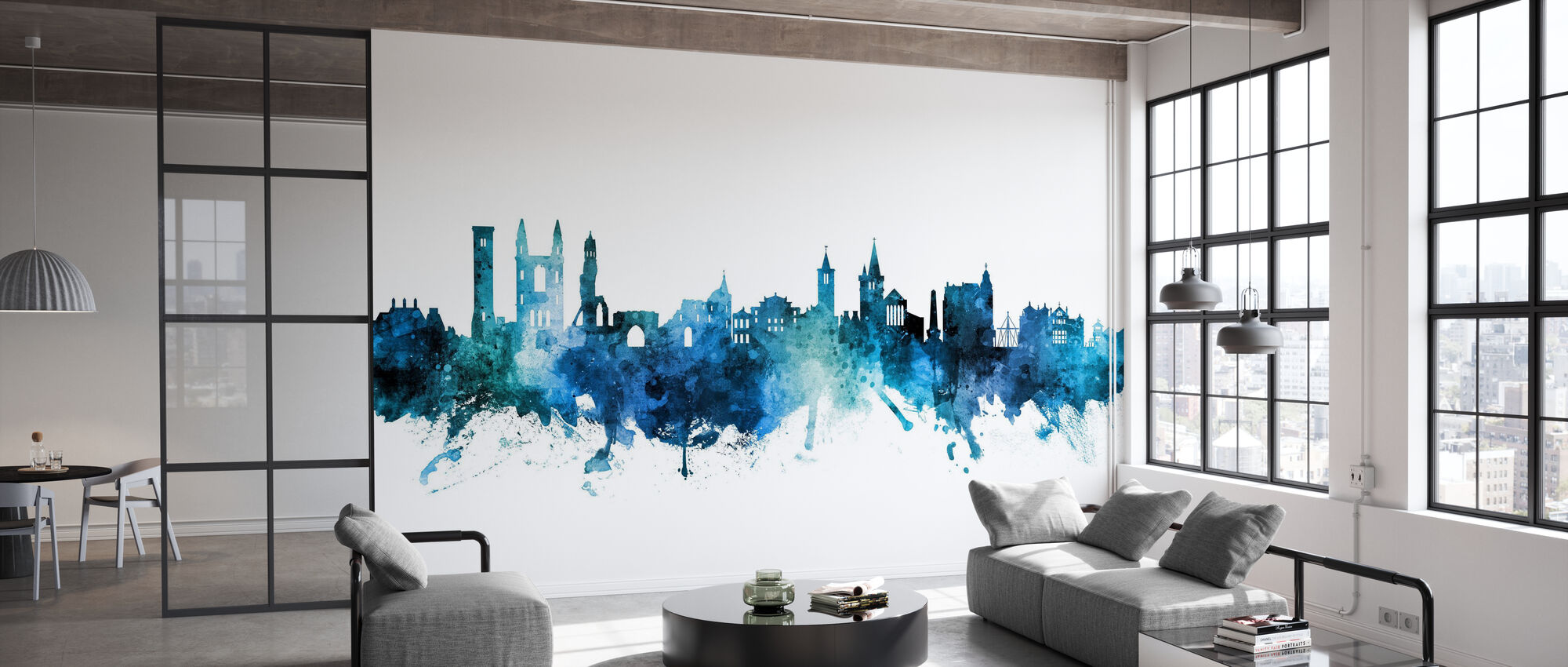 St Andrews Scotland Skyline - Wallpaper - Office