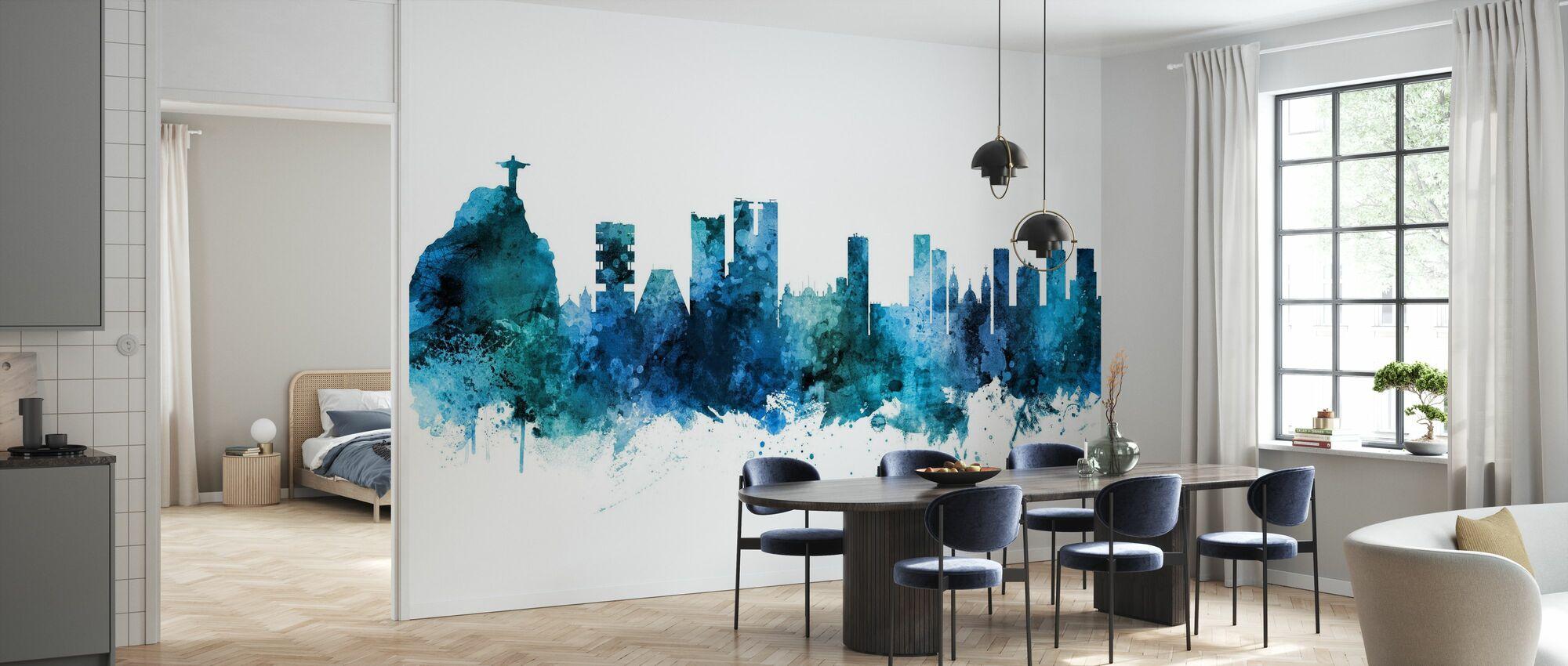 Rio de Janeiro Skyline Brazil - Wallpaper - Kitchen