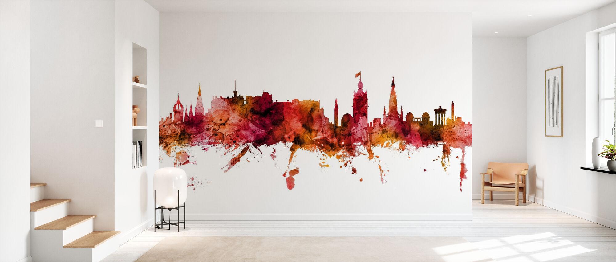Edinburgh Scotland Skyline - Wallpaper - Hallway