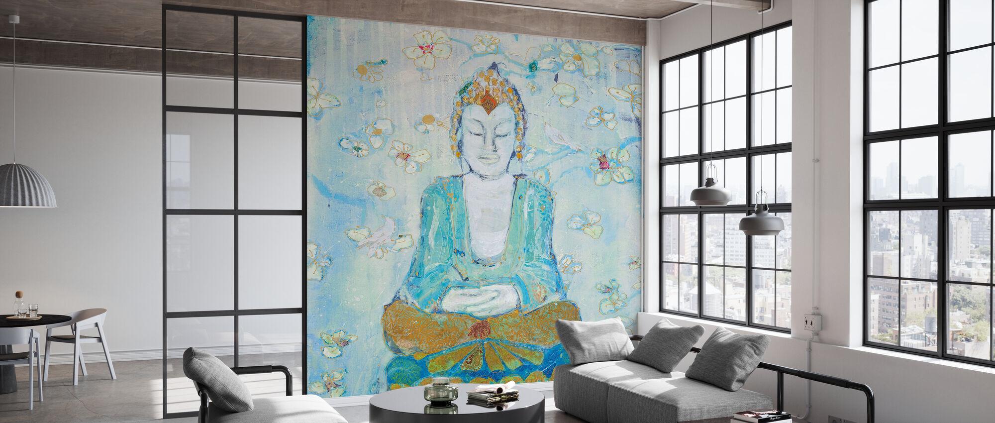 Buddha-pladsen - Tapet - Kontor