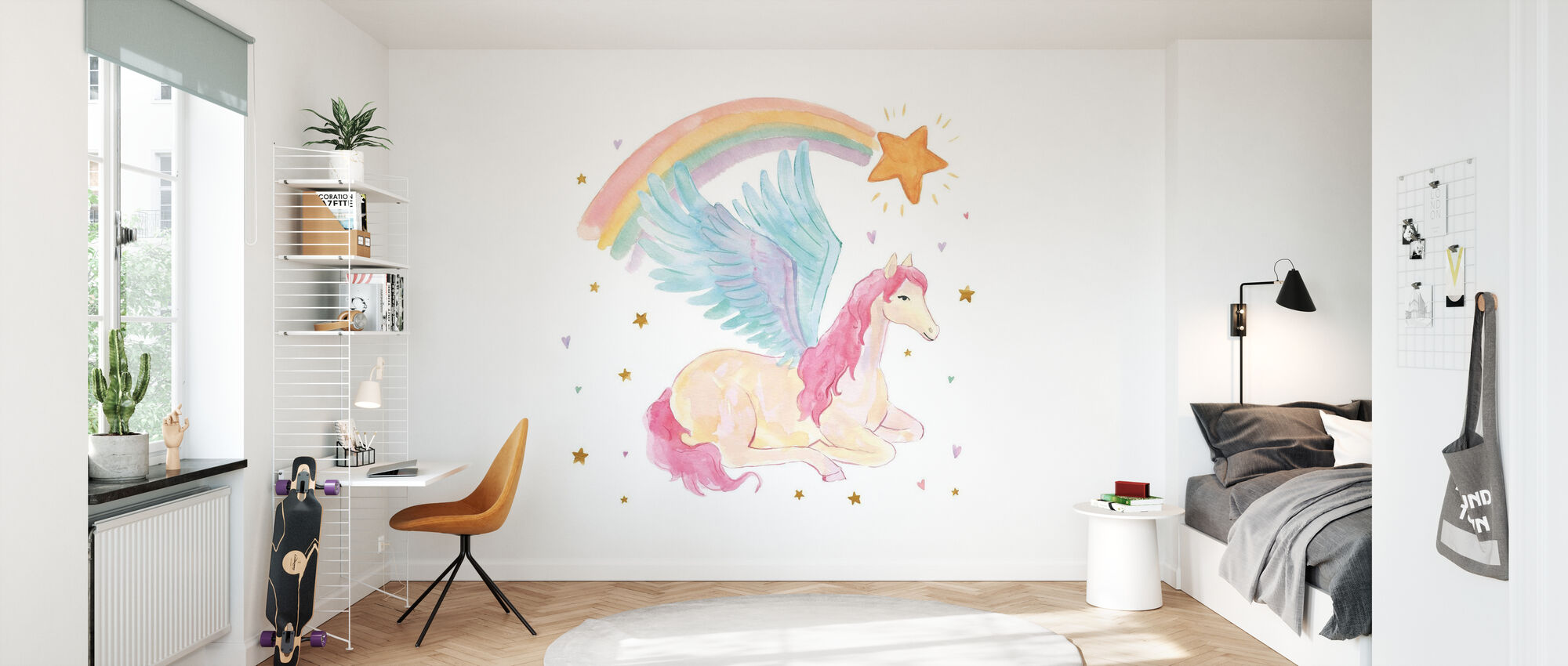 Magical Friends II - Wallpaper - Kids Room