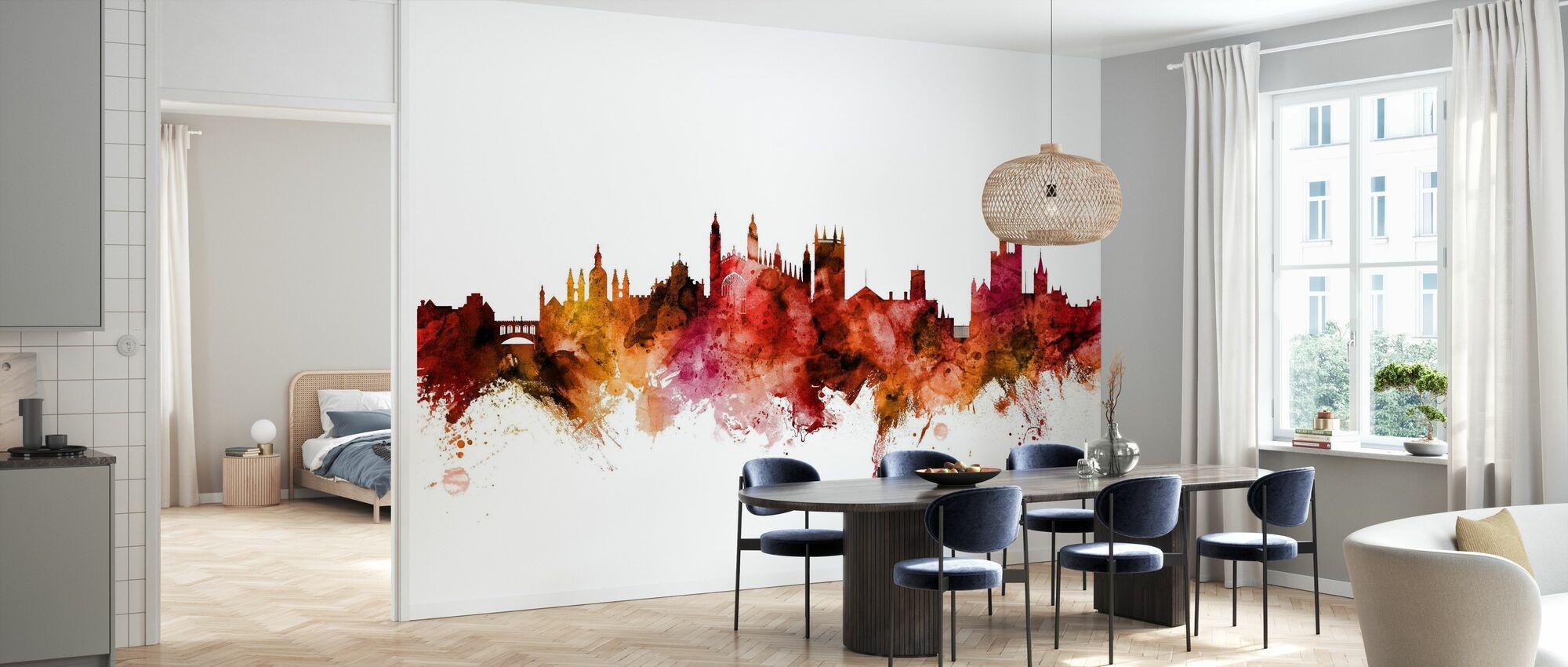 Cambridge England Skyline - Wallpaper - Kitchen