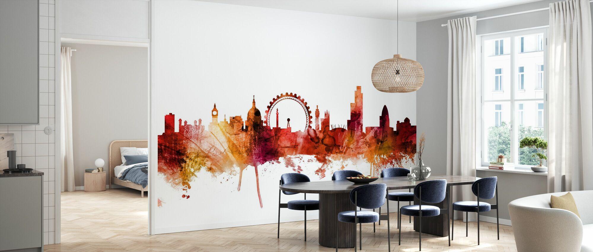 London England Skyline - Tapet - Kjøkken