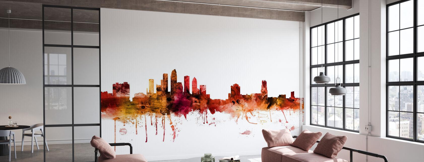Tampa Florida Skyline - Wallpaper - Office