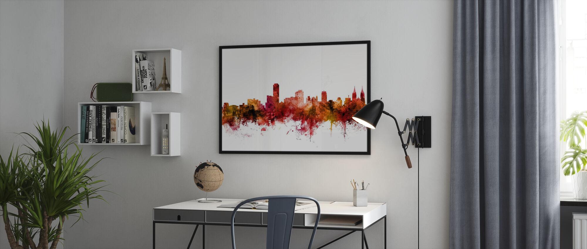 Adelaide Australia Skyline - Poster - Office