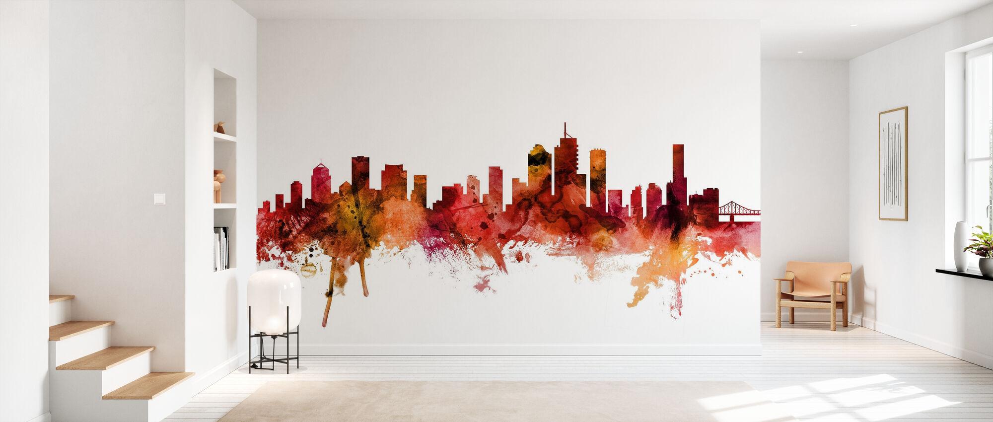 Brisbane Australia Skyline - Wallpaper - Hallway