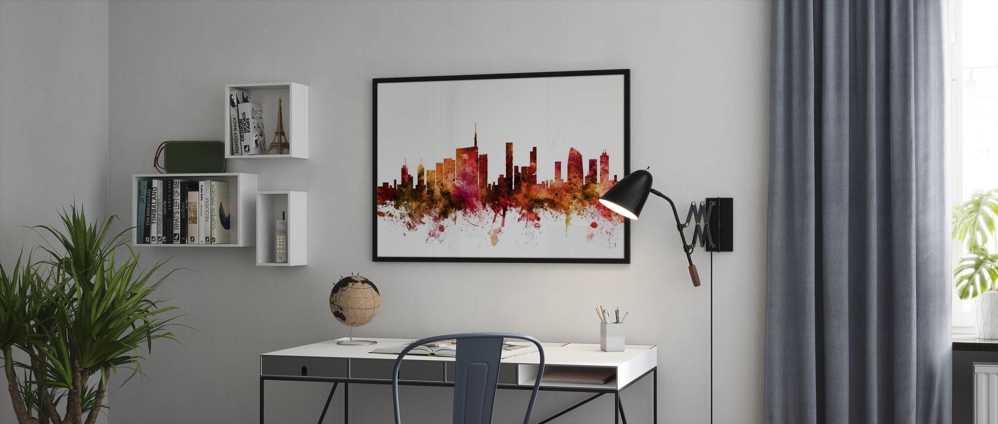 Milan Italy Skyline - Poster - Office