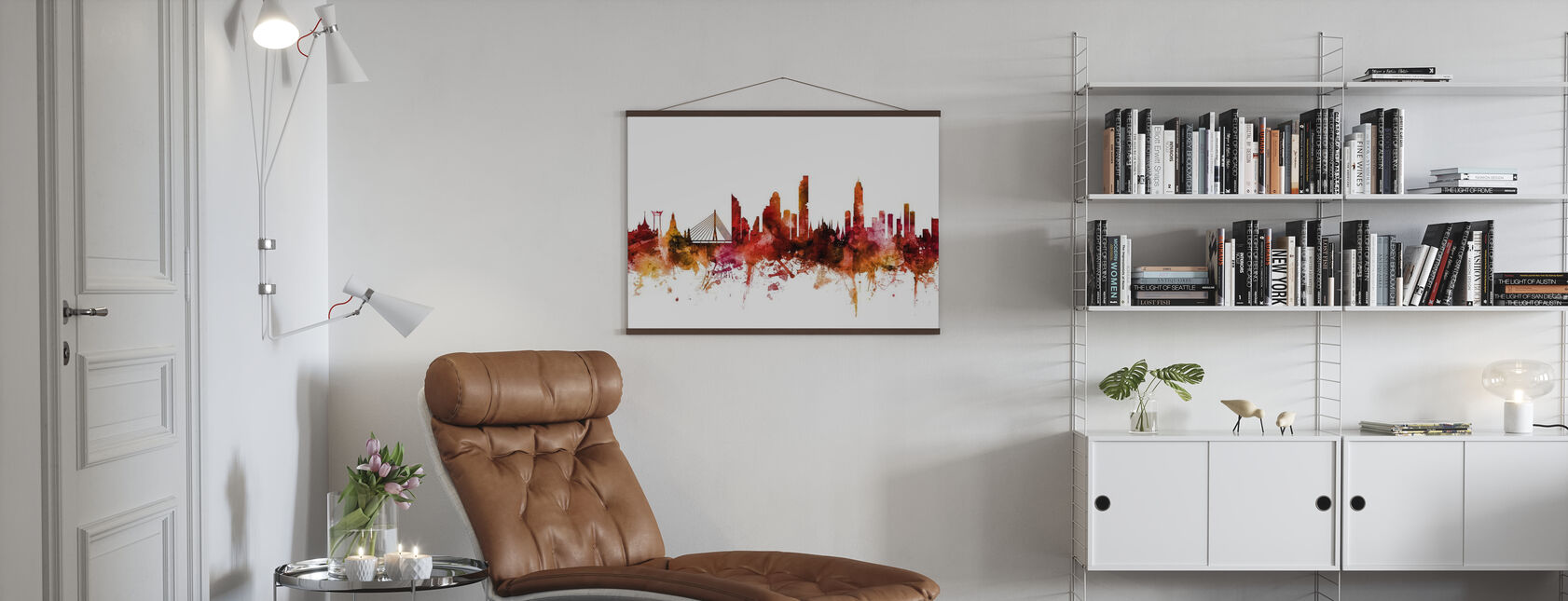 Bangkok Thailand Skyline - Poster - Living Room