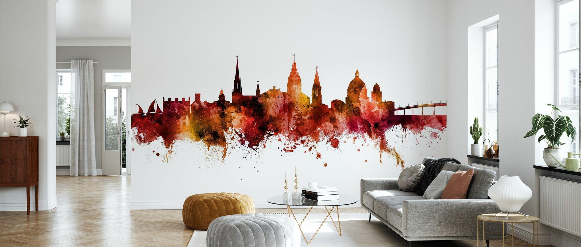 Annapolis Maryland Skyline - Wallpaper - Living Room