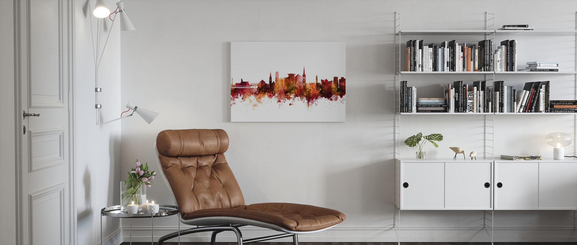 Bournemouth England Skyline - Canvas print - Living Room