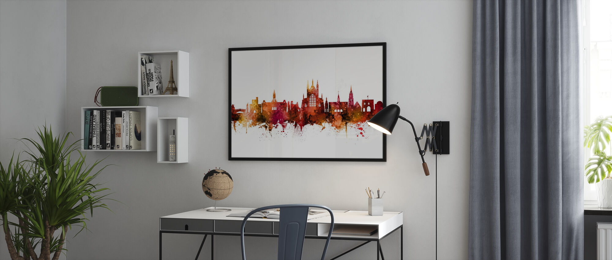 Winchester England Skyline - Poster - Office