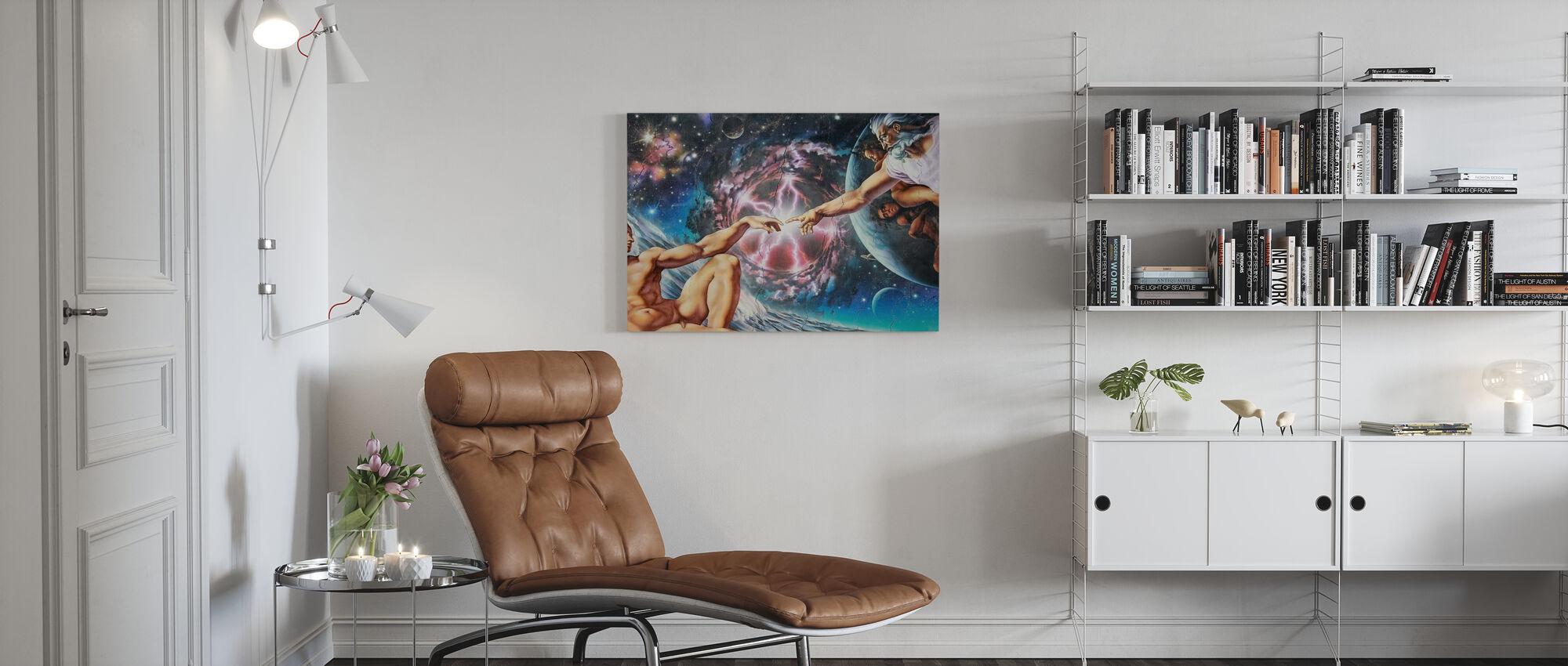 Creation - Canvas print - Living Room