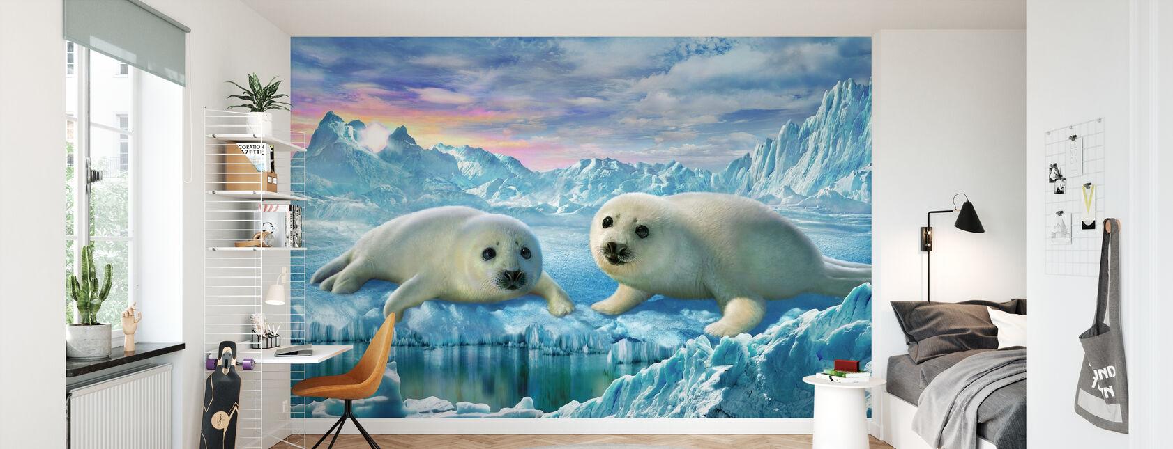 Seal Pups - Behang - Kinderkamer
