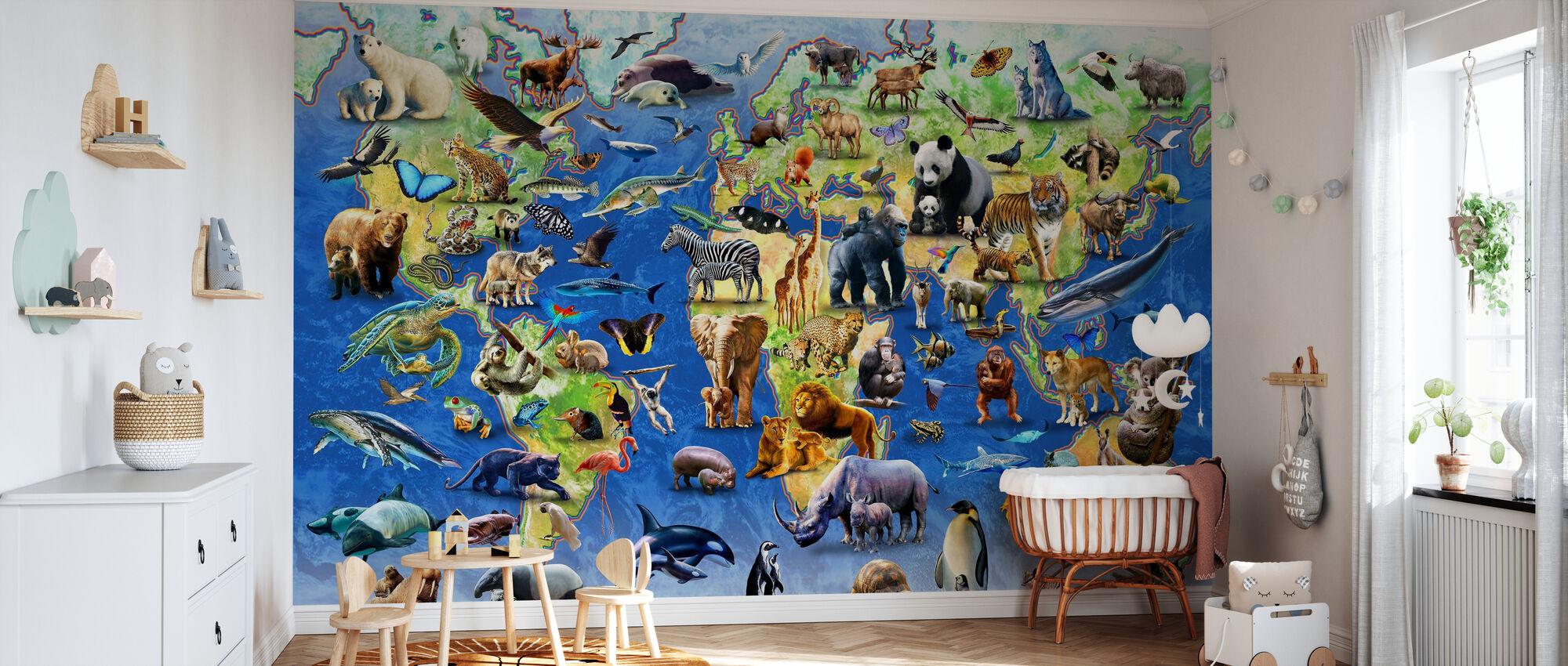 Hundra utrotningshotade arter - Tapet - Babyrum
