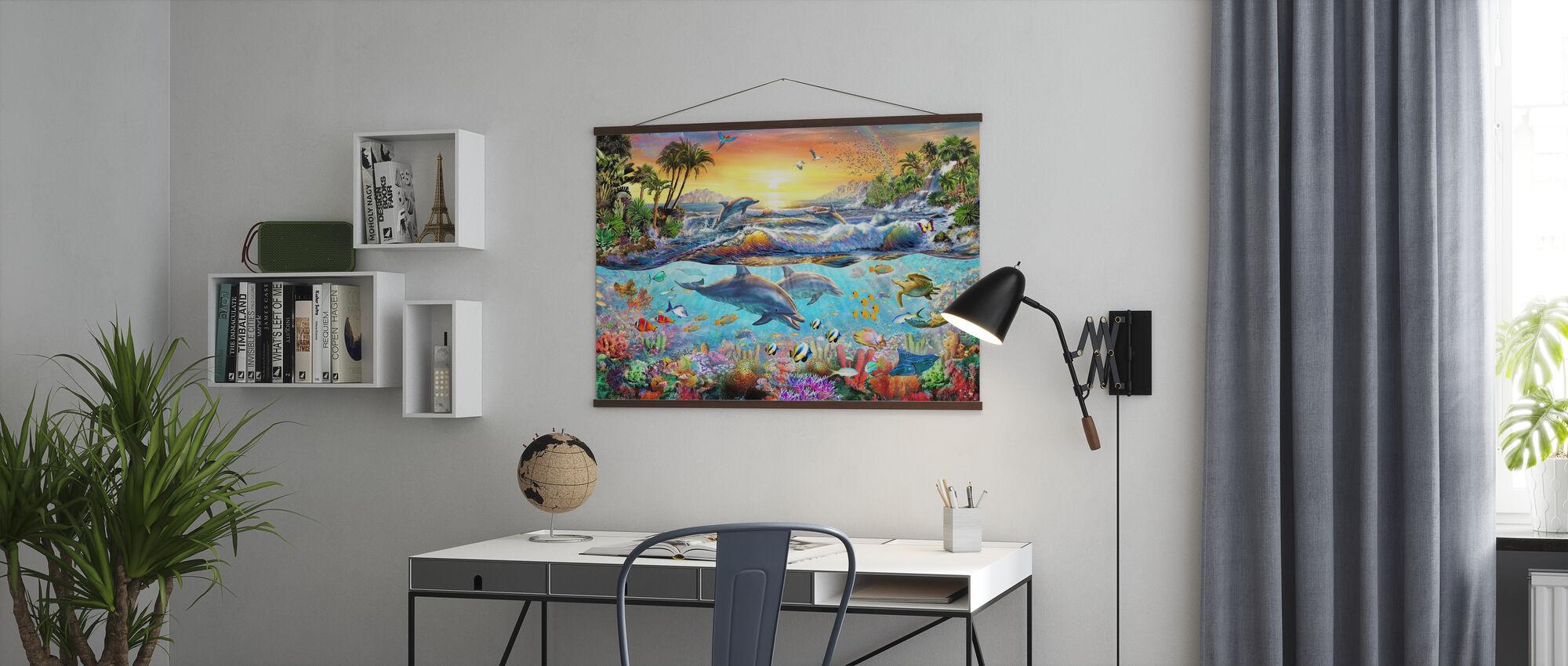 Baia tropicale - Poster - Uffici