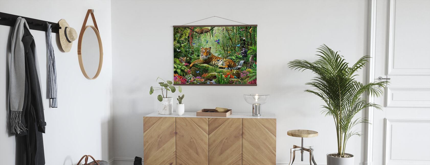 Tijger in de jungle - Poster - Gang