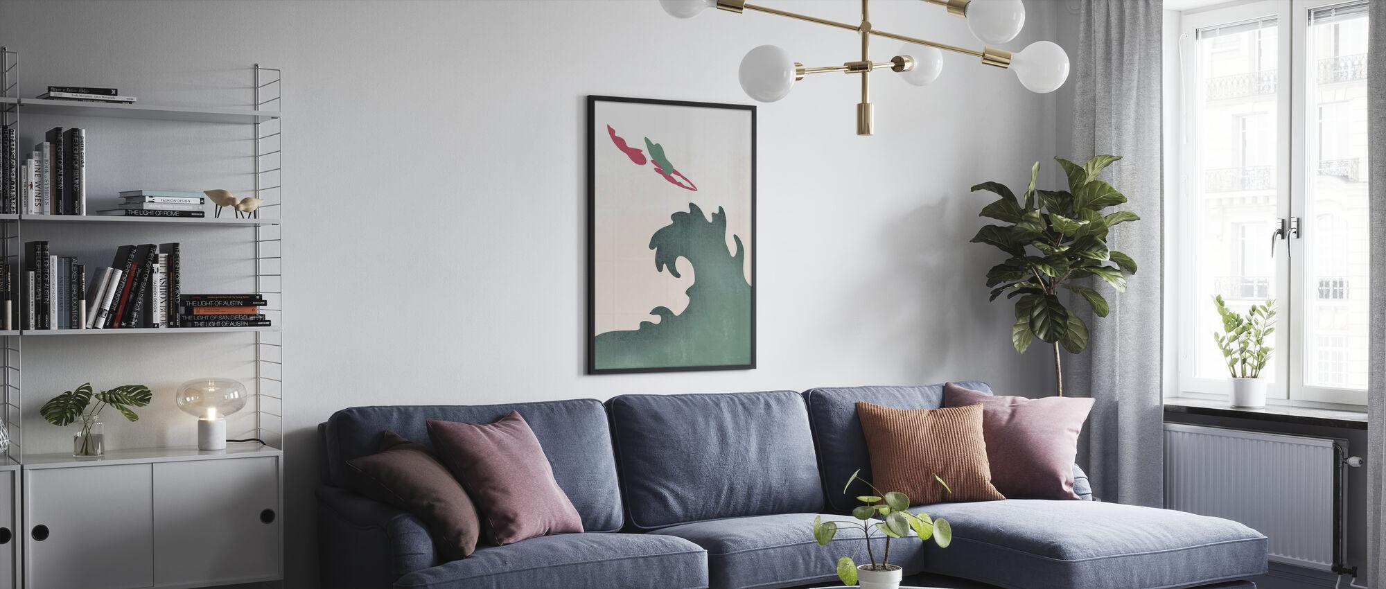 Heilige Duiker - Groen - Poster - Woonkamer