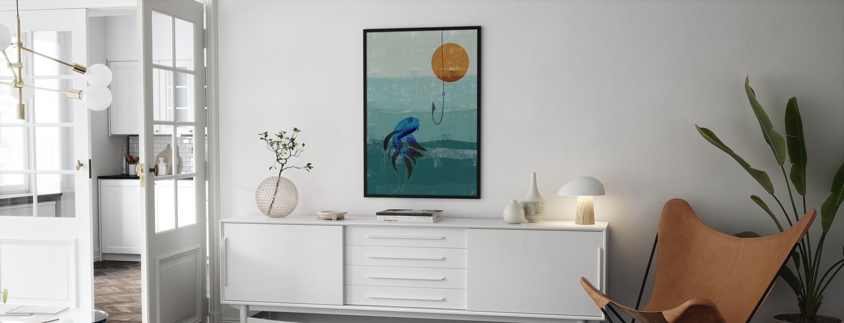 Fish Tank - Framed print - Living Room