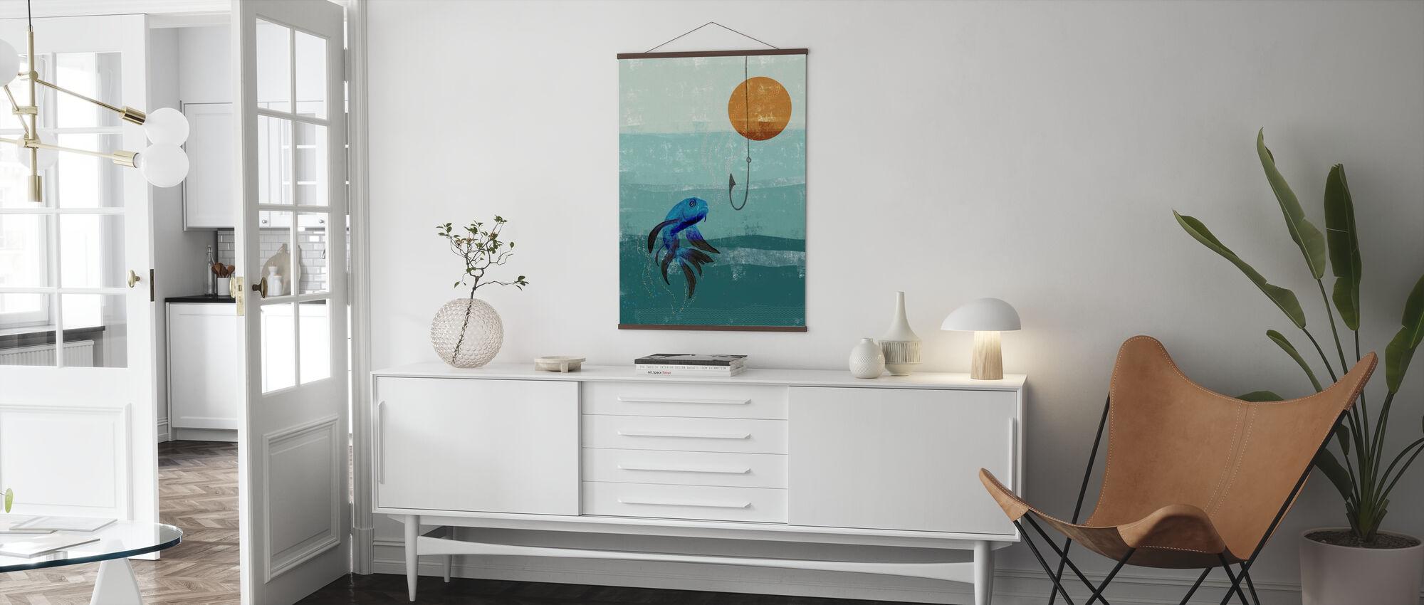 Aquarium - Poster - Wohnzimmer