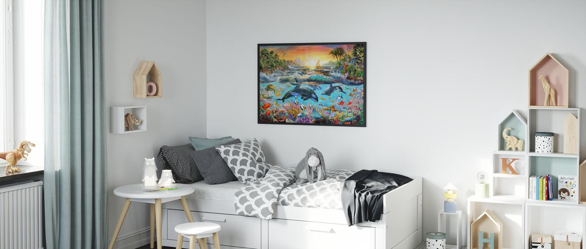 Orca Paradise - Plakat - Barnerom