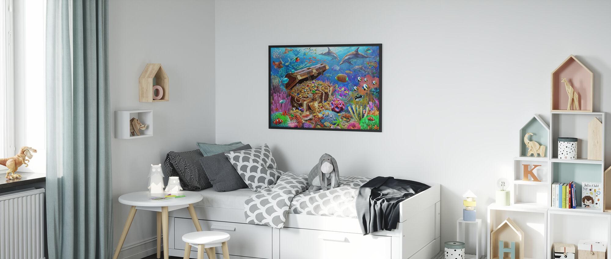 Undersea Treasure - Poster - Kids Room