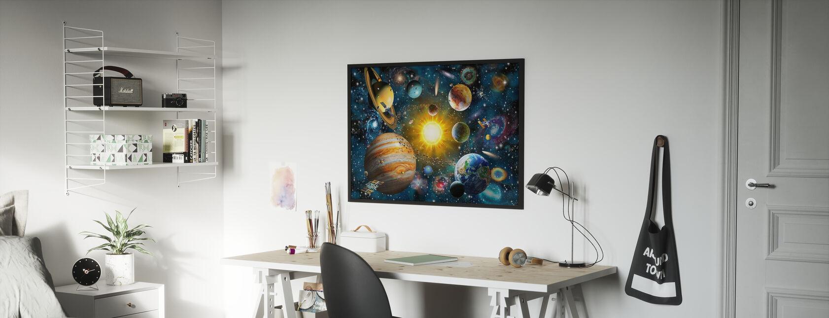 OurSolarSystem - Poster - Kids Room