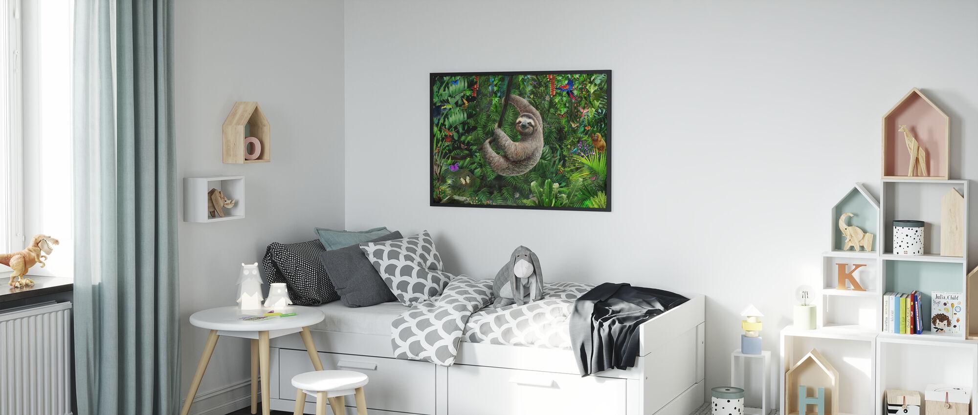 Sloath i jungelen - Plakat - Barnerom