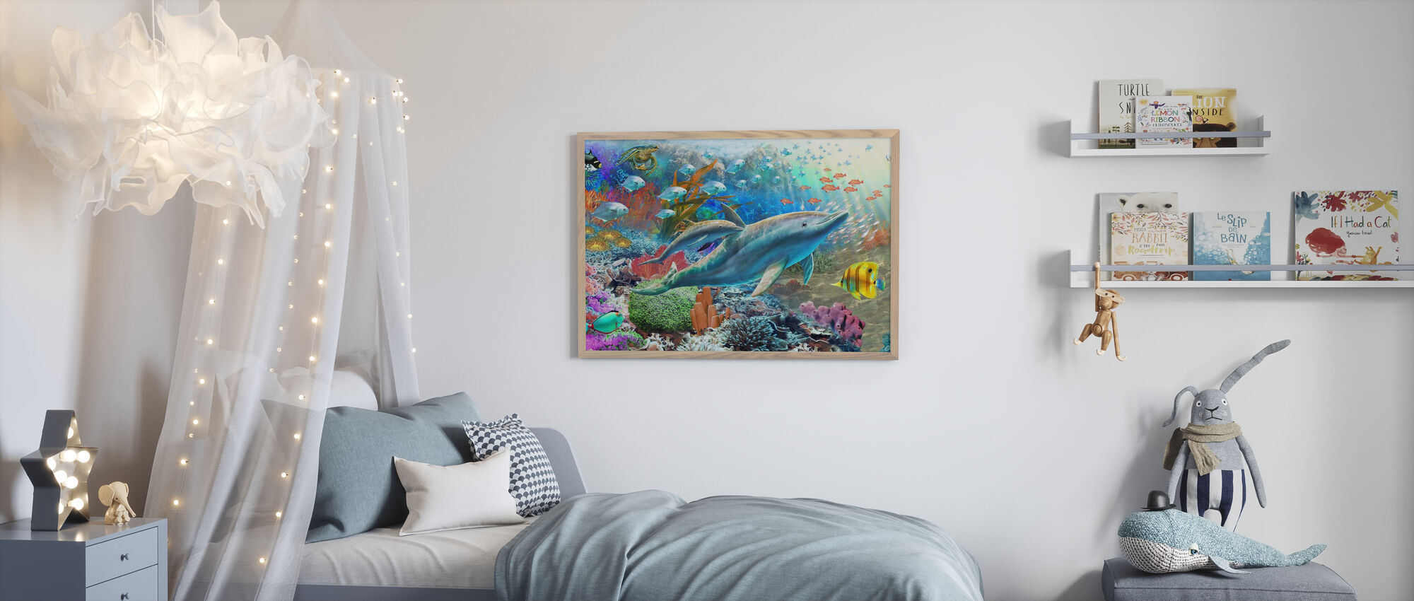 Land and Water Utopia I - Poster - Kids Room