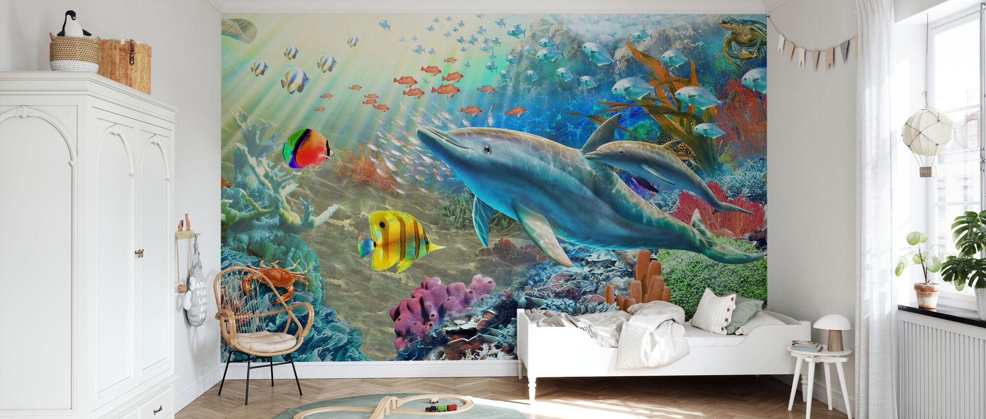 Land and Water Utopia II - Wallpaper - Kids Room