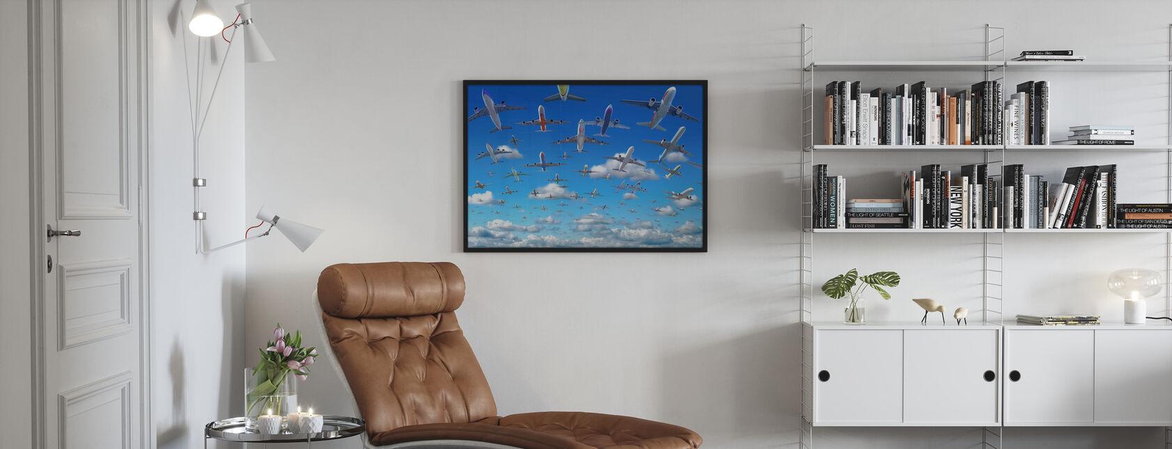 Überfüllter Himmel - Poster - Wohnzimmer