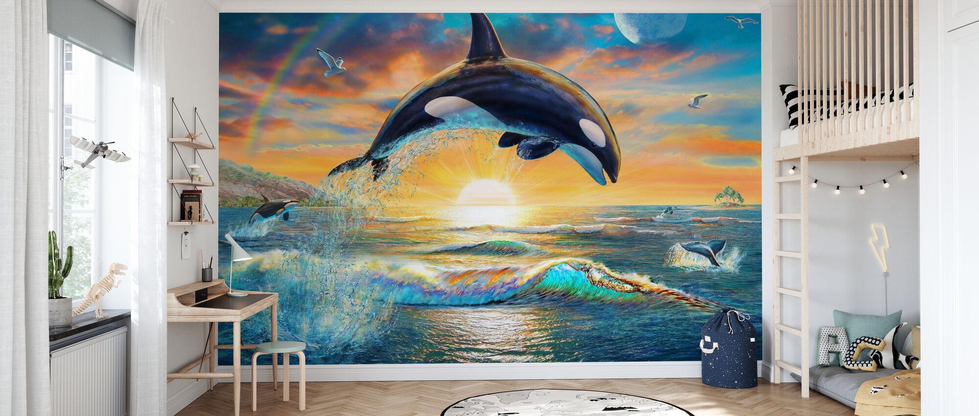 Orca Dawn - Wallpaper - Kids Room