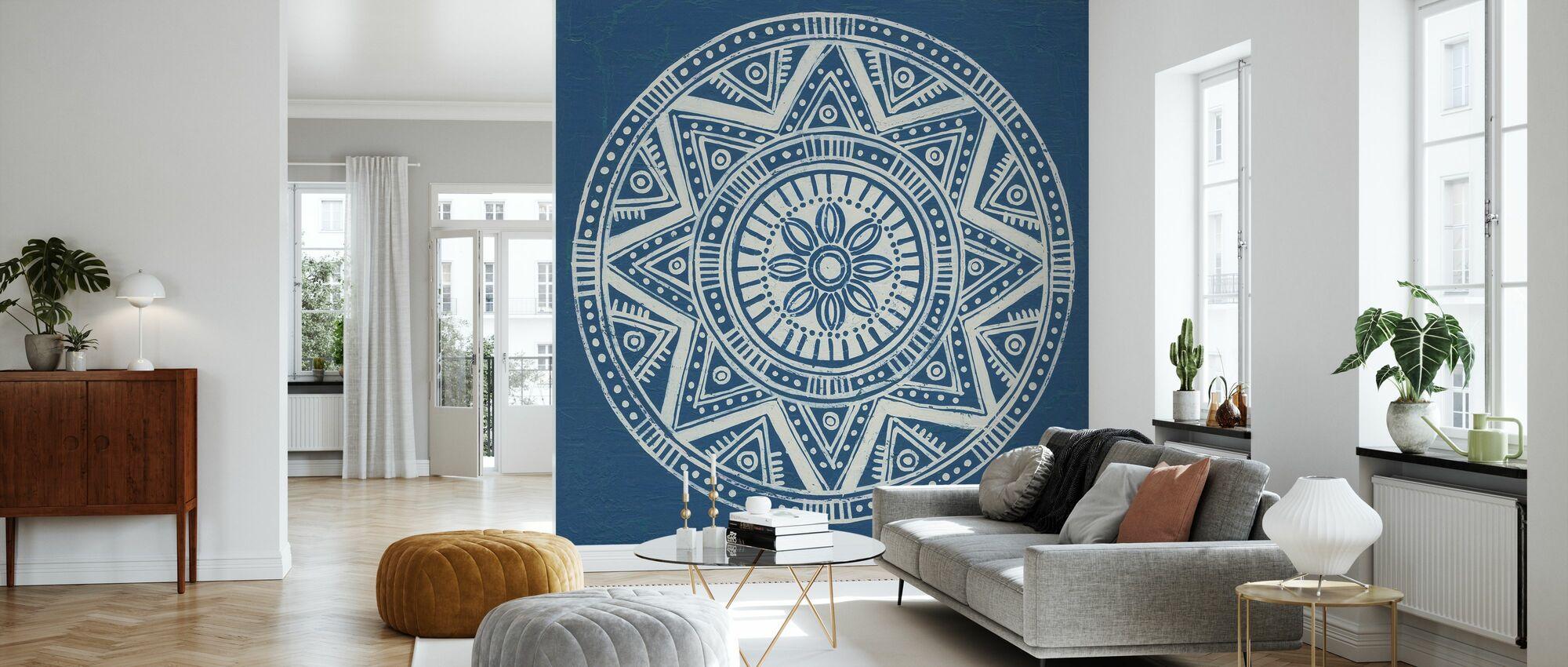 Seville Mandala I - Wallpaper - Living Room