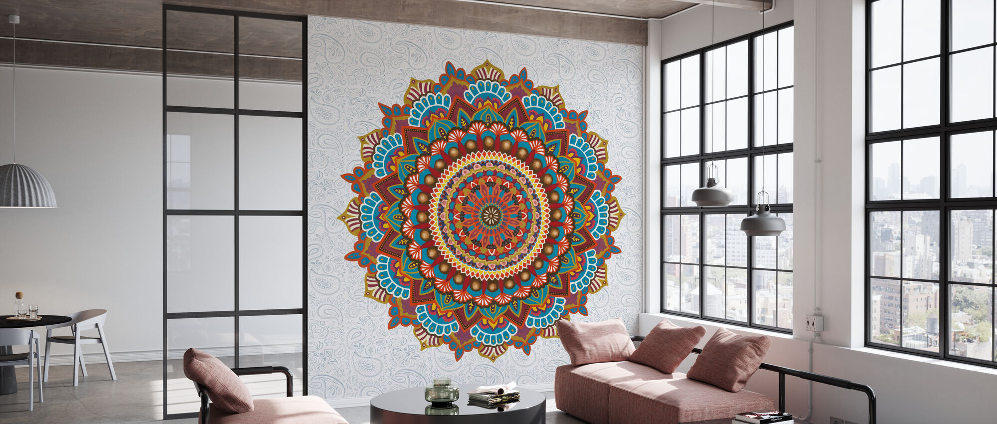 Mandala Dream - Wallpaper - Office