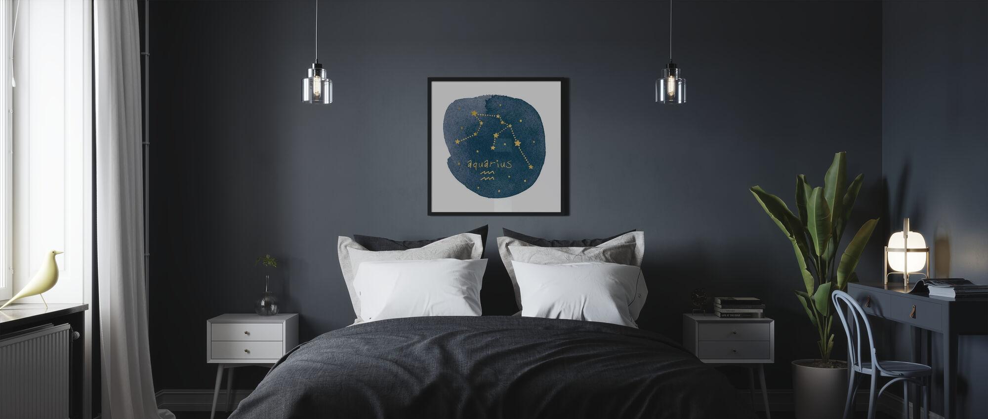 Horoskop Vattumannen - Poster - Sovrum