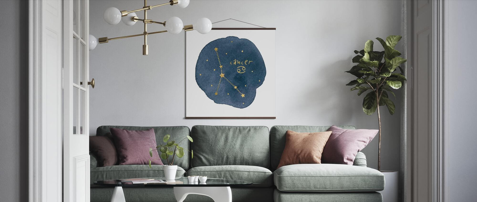 Horoskop Cancer - Poster - Vardagsrum