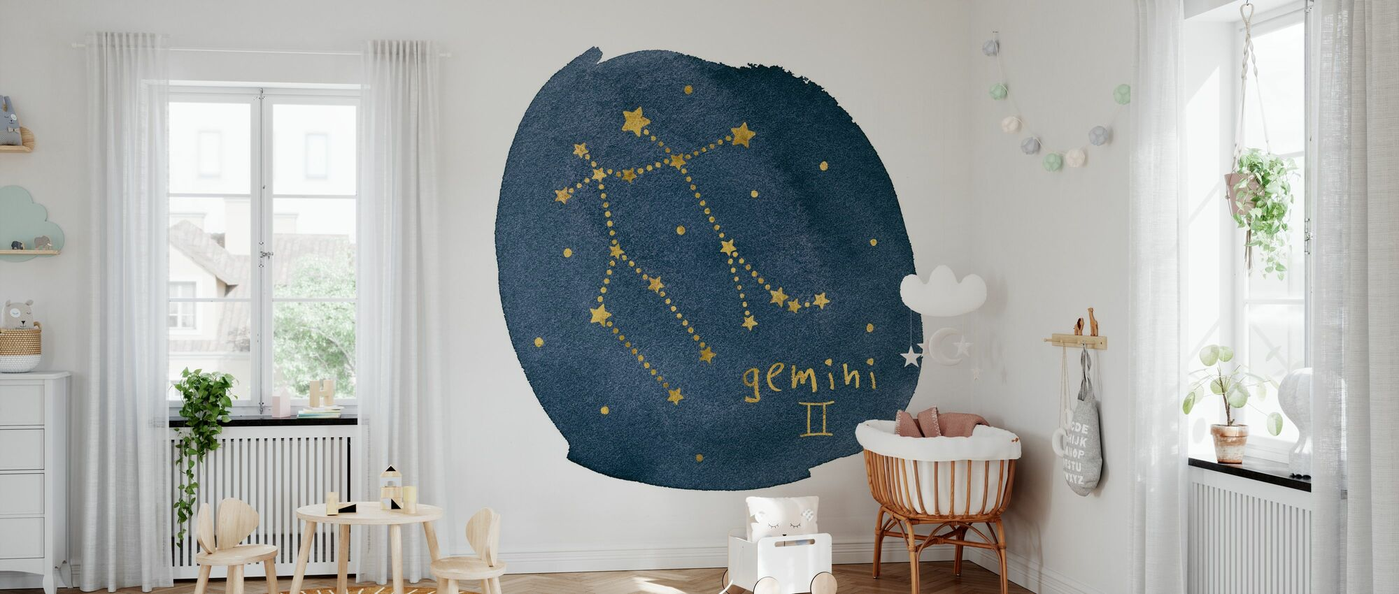 Horoscope Gemini - Wallpaper - Nursery