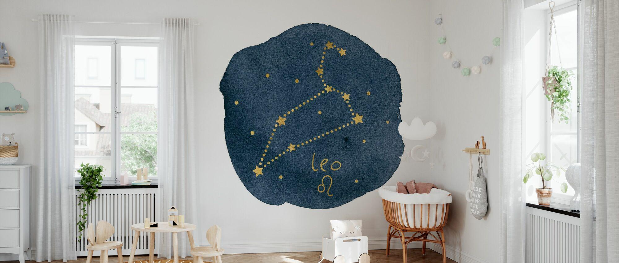 Horoscope Leo - Wallpaper - Nursery
