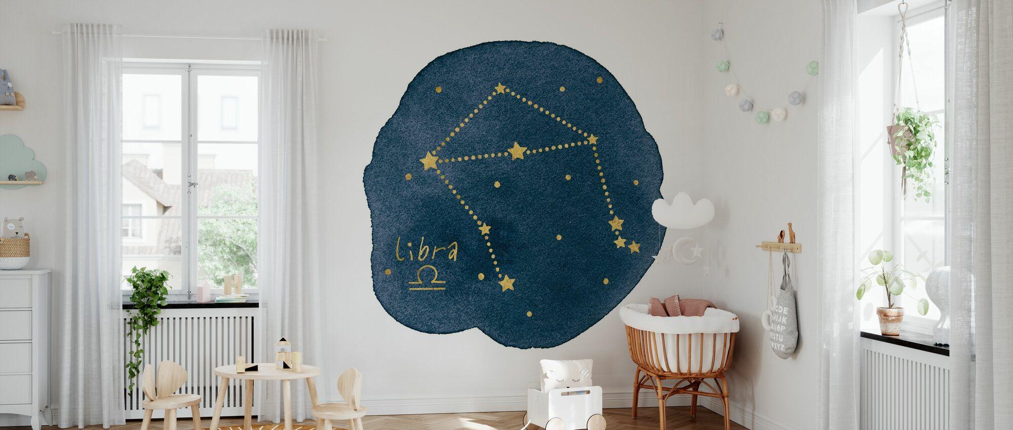 Horoscope Libra - Wallpaper - Nursery
