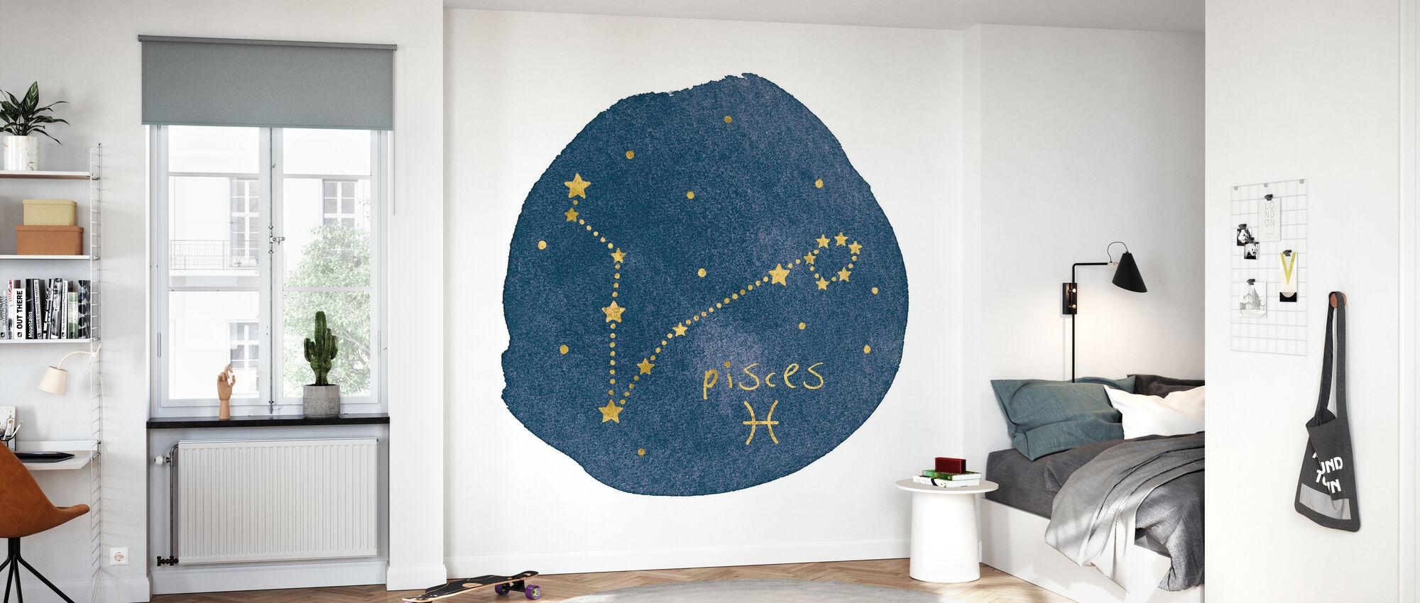 Horoscope Pisces - Wallpaper - Kids Room