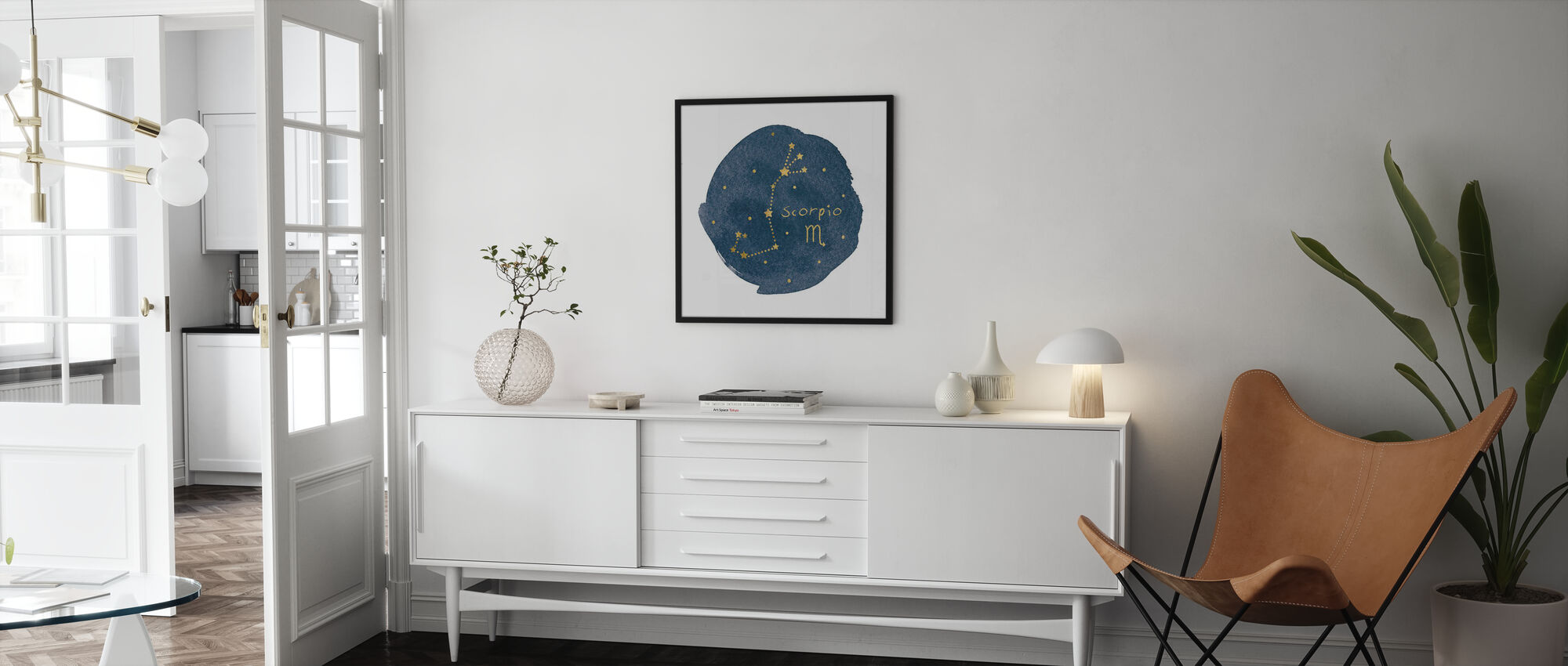 Horoscope Scorpio - Poster - Living Room