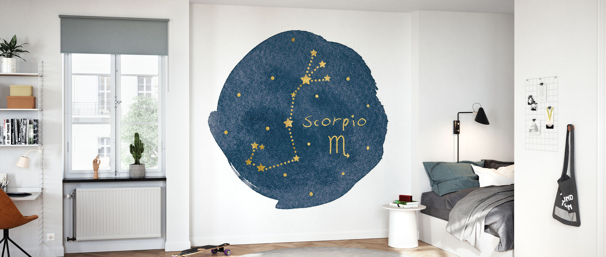 Horoskop Skorpion - Tapete - Kinderzimmer