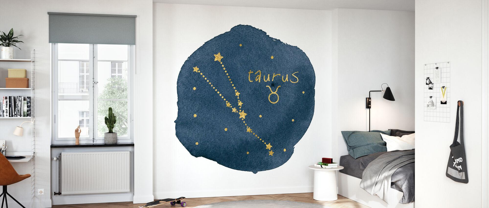 Horoscope Taureau - Papier peint - Chambre des enfants