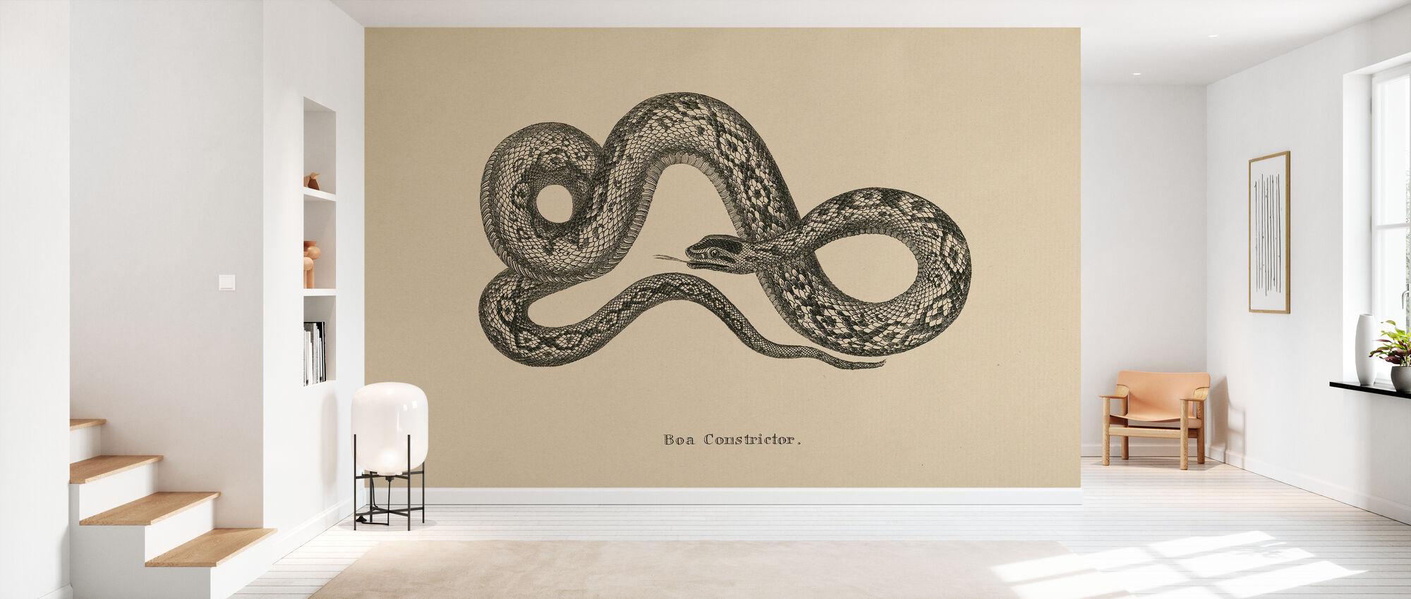 Vintage Boa Constrictor - Tapet - Entré